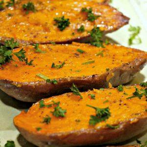 Simply Roasted Sweet Potato ~ Naturally Gluten-Free