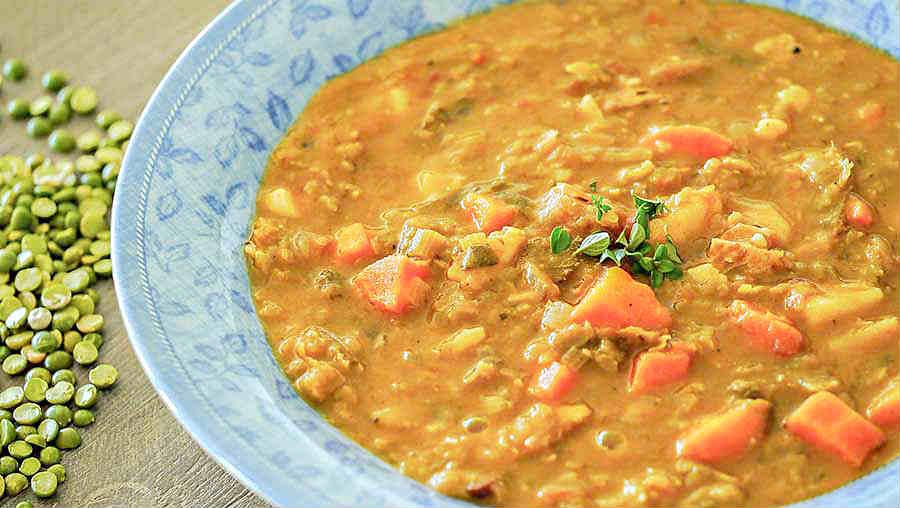 Country Split Pea Soup Recipe