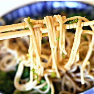 Gluten-Free Sticky Garlic Noodles Recipe