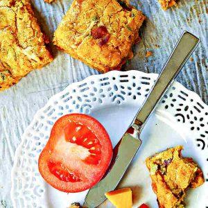 Gluten-Free Savoury Yam and Cheese Scones