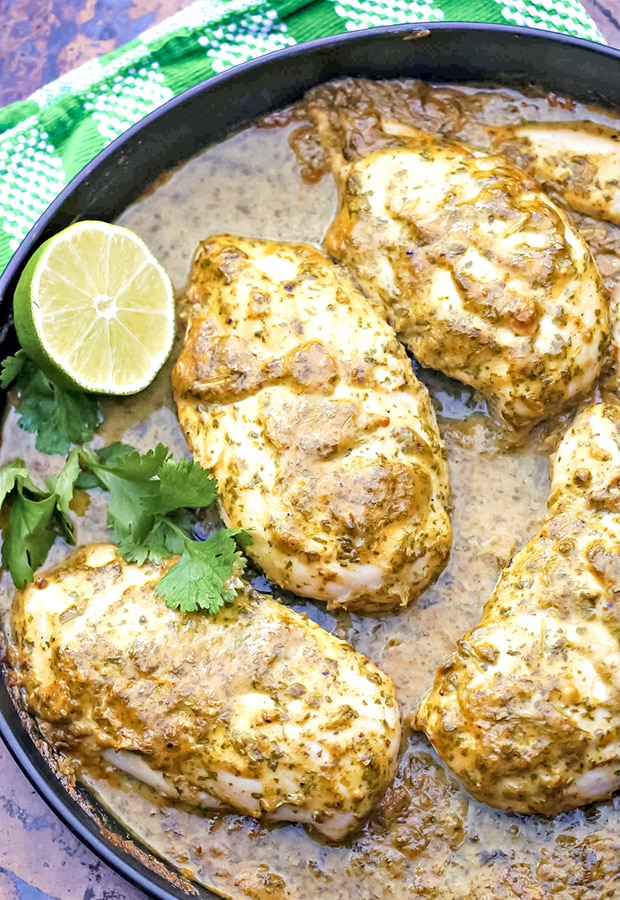 Cilantro and Lime Chicken