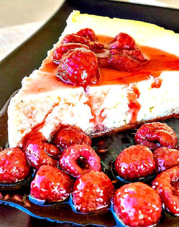 Gluten-Free Baked German Cheesecake