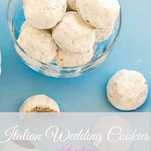 Gluten Free Italian Wedding Cookies