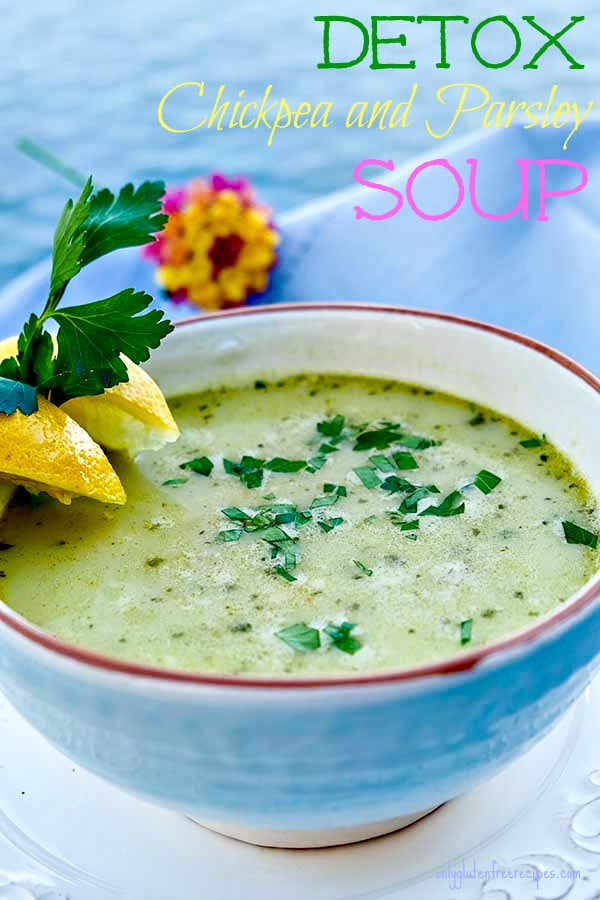 Immune Boosting Chickpea and Parsley Soup