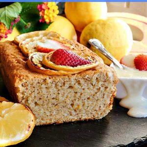 Gluten Free Vegan Lemon Loaf