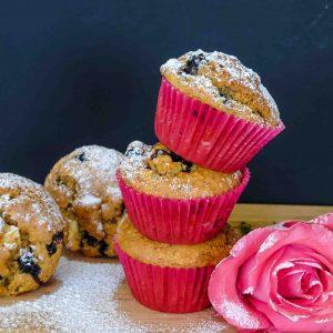 Best Gluten Free Blueberry Apple Muffins