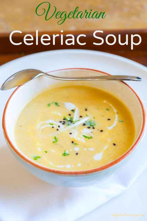 Vegetarian Celeriac Soup