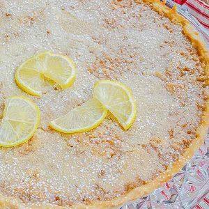 Gluten-Free French Lemon Tart