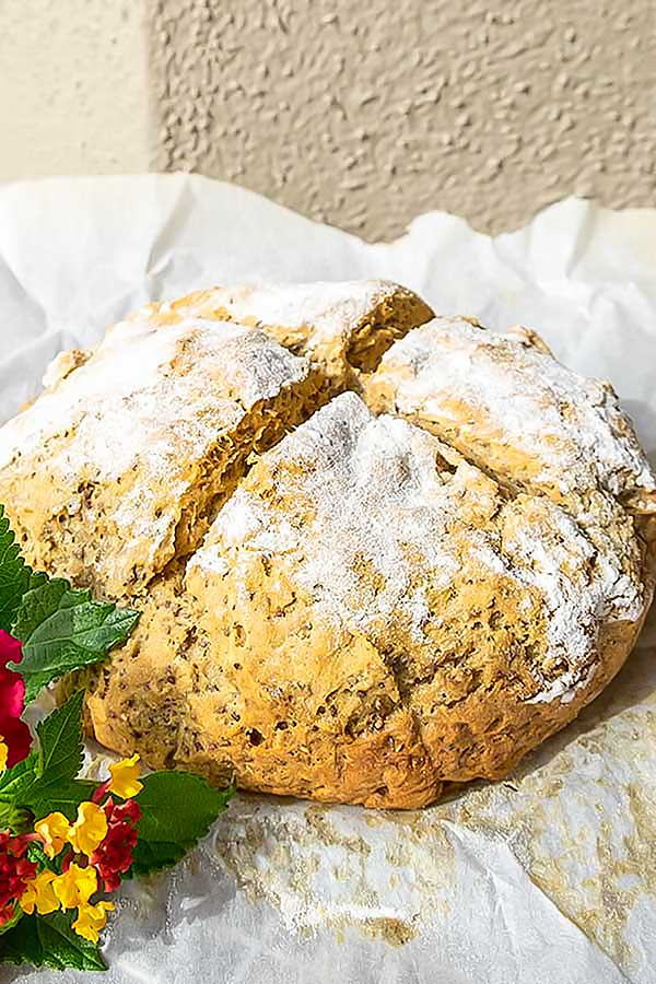 Gluten-Free Chia Soda Bread