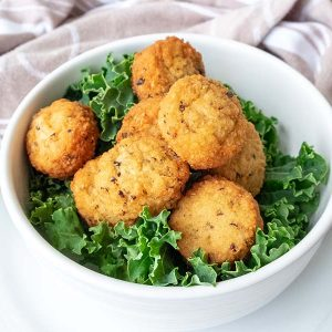 Baked Bacon and Cheese Croquettes