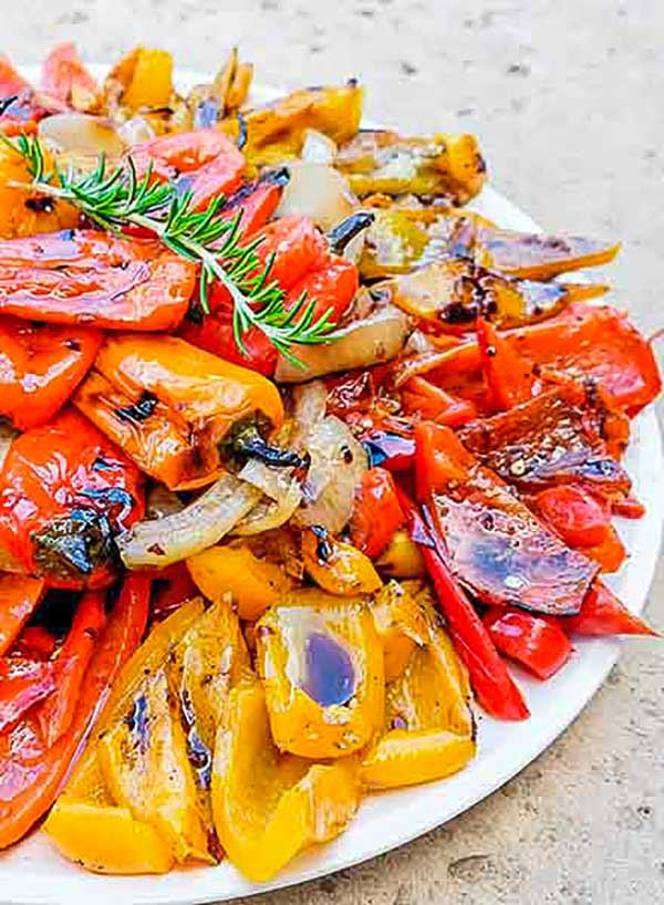 Italian Chargrilled Peppers Recipe