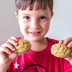 Gluten-Free Oatmeal Coconut Butter Cookies