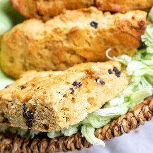 Easy Gluten-Free Currant Scone Recipe