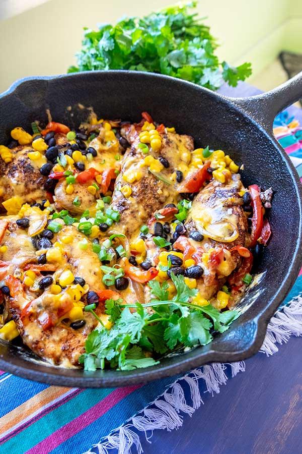 Santa Fe Skillet Chicken Dinner