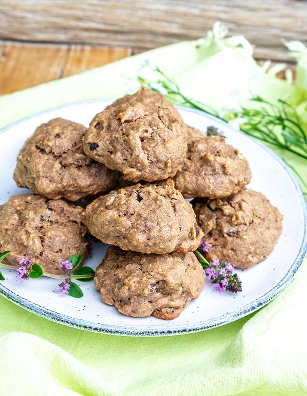 Gluten-Free Teff Energy Cookies