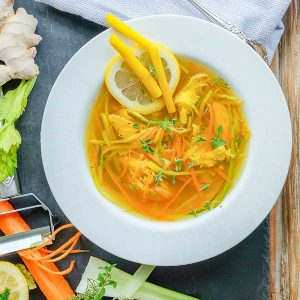 30-Minute Immune Boosting Chicken Soup