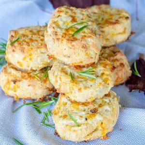 Cheese Rosemary Buttermilk Biscuits (Gluten-Free)