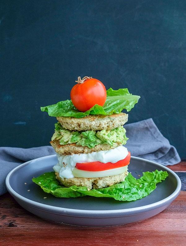 Sweet Potato Chickpea Sesame Patties (Vegan, Grain-Free)