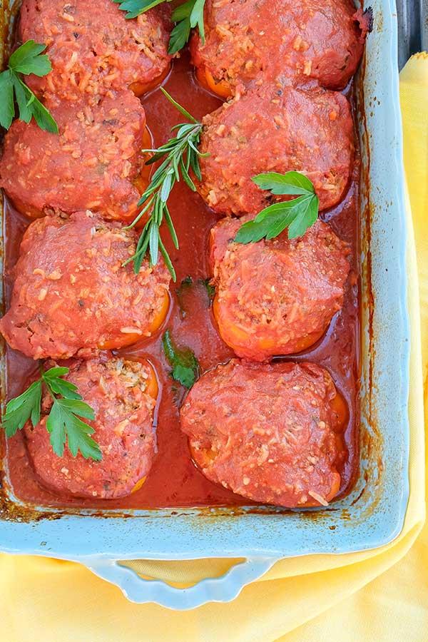 Easy Hungarian Stuffed Peppers Recipe