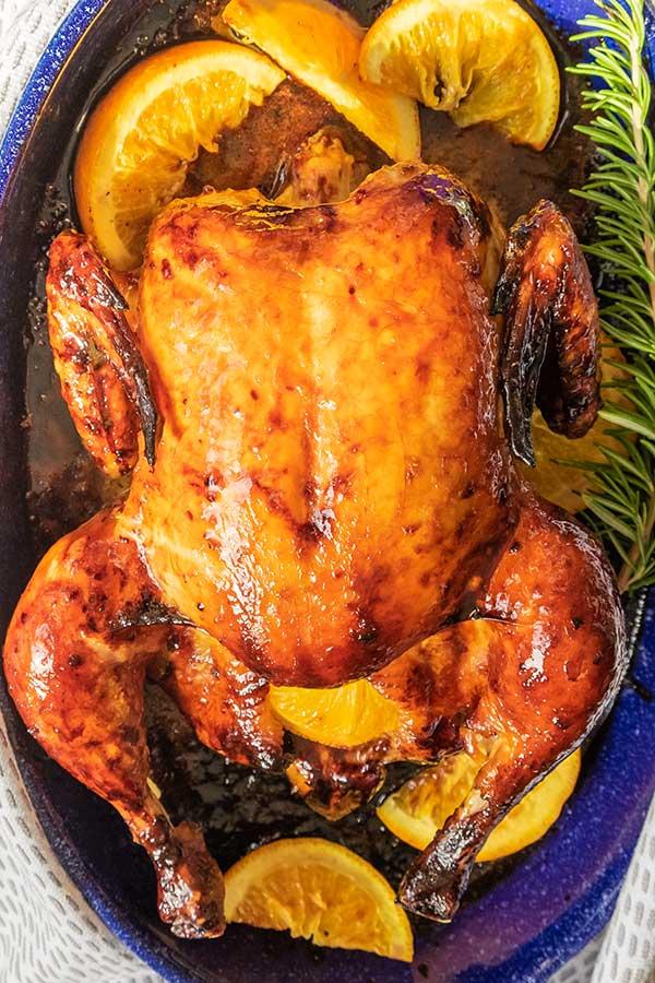 Crispy Chicken a l'Orange Recipe