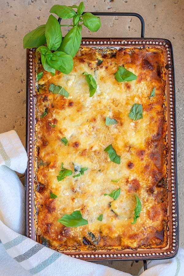 Zucchini Baked Ziti (Keto, Gluten-Free, Grain-Free)