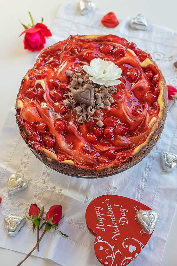 Gluten-Free Black Forest Cheesecake