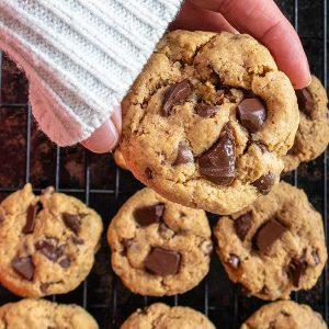One Bowl Gluten-Free Chocolate Chip Cookies