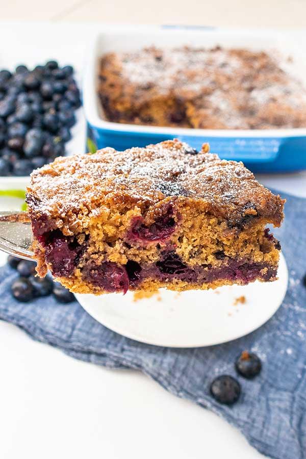 Gluten-Free Blueberry Buckle