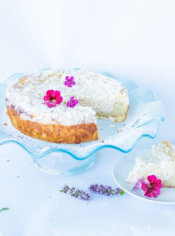 Gluten-Free Cream Cheese Vanilla Cake