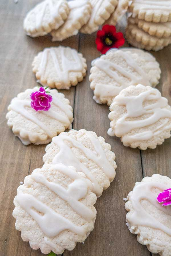 Grain-Free Sugar Cookies with Maple Icing