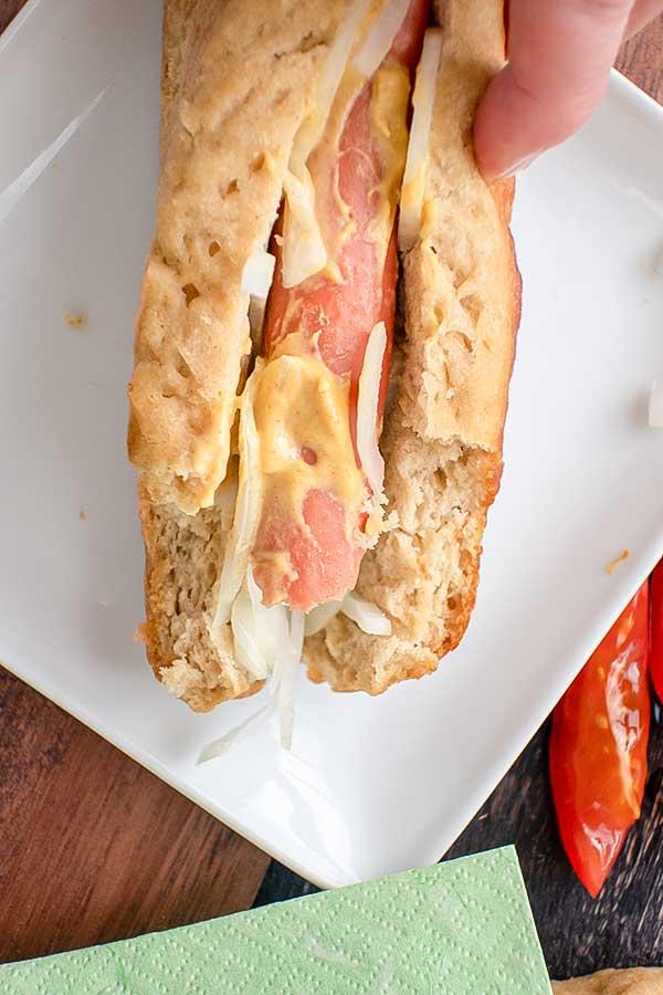 Easy Gluten-Free Hot Dog Buns