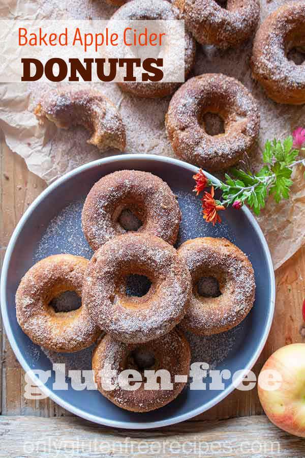 Gluten-Free Baked Apple Cider Donuts
