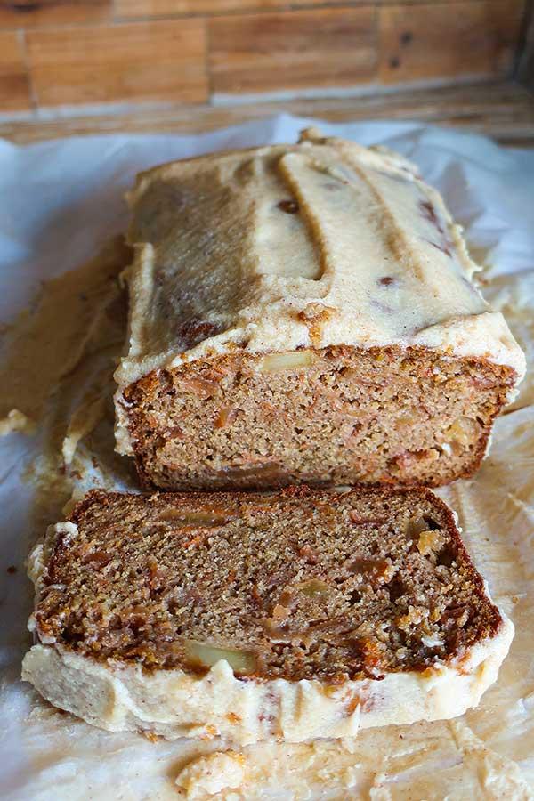 Gluten-Free Carrot Apple Loaf