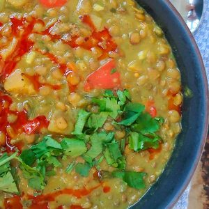 Instant Pot Beef And Lentil Soup