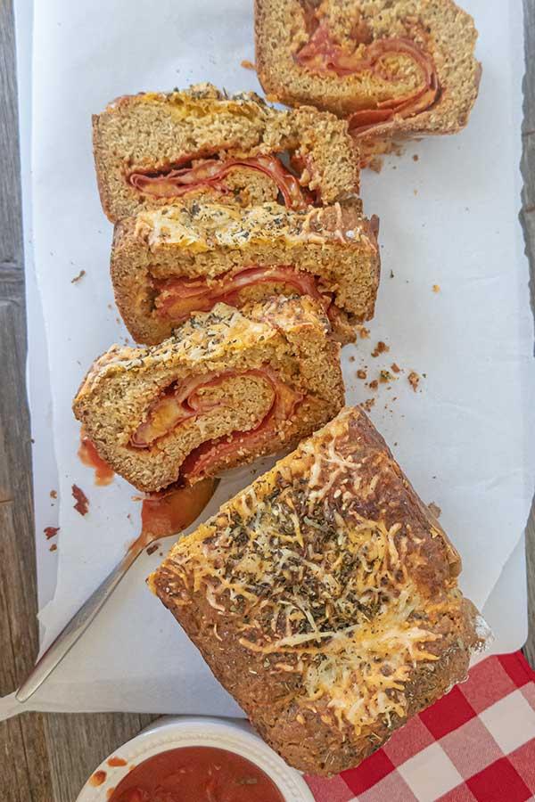 Gluten-Free Stromboli Bread