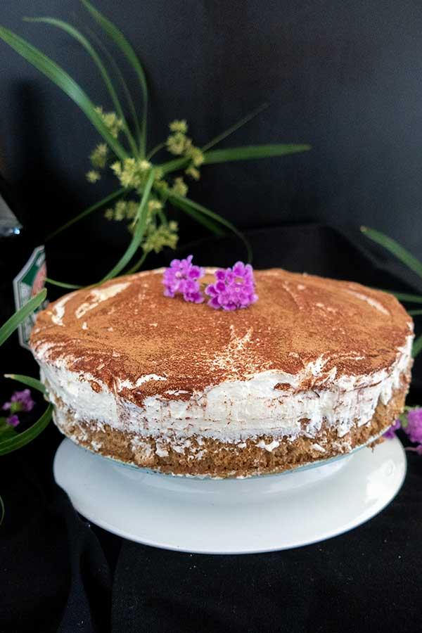 Gluten-Free Irish Cream Tiramisu Cake