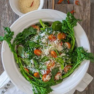 Spring Mediterranean Rice Dish