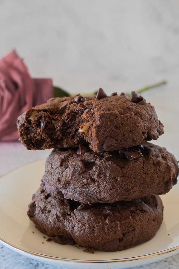 Gluten-Free Fudgy Brownie Cookies