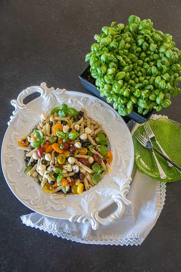 Gluten-Free Mediterranean Pasta Salad