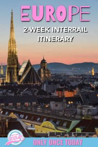 2 Weeks in Central Europe Interrail Route