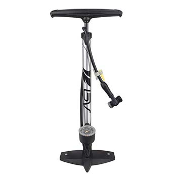 5. BV Bicycle Ergonomic Bike Floor Pump