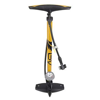 8. BV Bicycle Ergonomic Bike Floor Pump