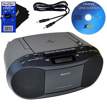5. Sony CD Radio Cassette Recorder