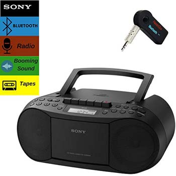8. Sony Bluetooth Boombox Bundle