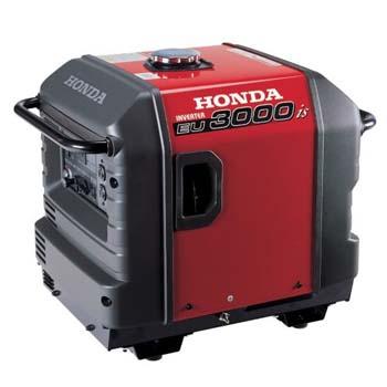 10.Honda EU3000iS Gas Powered, Portable Inverter