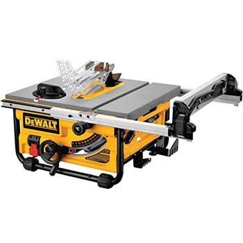 2. DEWALT DW745 10-Inch Compact Job-Site Table Saw