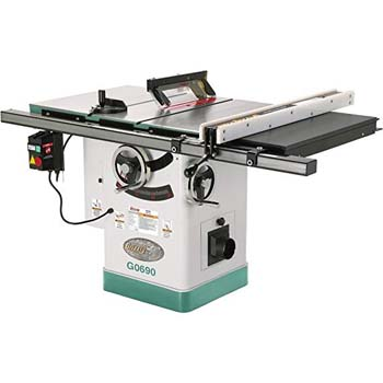 5. Grizzly G0690 Cabinet Table Saw with Riving Knife, 10-Inch