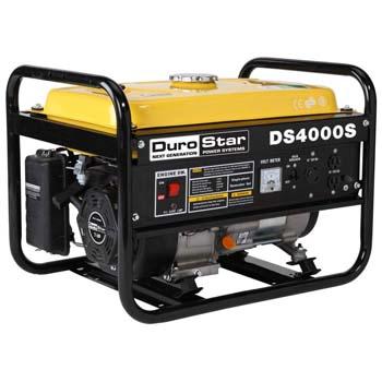 2. DuroStar DS4000S, 3300 Running Watts/4000 Starting Watts, Gas Powered Portable Generator