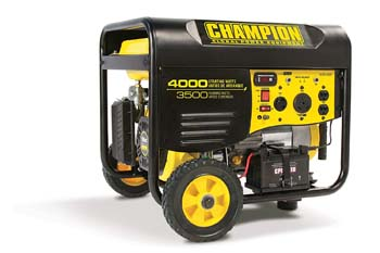10. Champion 3500-Watt RV Ready Portable Generator with Wireless Remote Start (CARB)