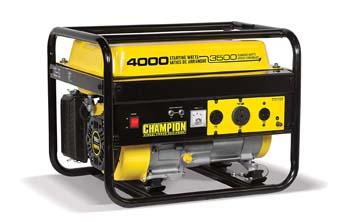4. Champion 3500-Watt RV Ready Portable Generator (EPA)